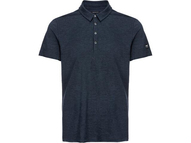 super.natural Parzi Bluzka z krótkim rękawem Mężczyźni, navy blazer melange